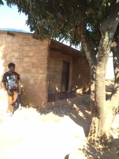 Typical house in Ngombe compound Lusaka
