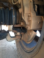 3 of 4 bolts broke on ball joint 6 hours away