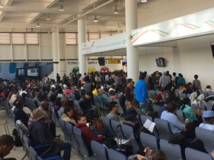Addis Ababa airport (ADD) Ethiopia